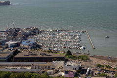 Fort Baker Beach on Horseshoe Cove, SFO, California Royalty Free Stock Photos