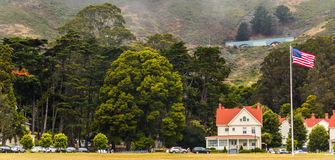 Fort Baker in Sausalito Royalty Free Stock Image