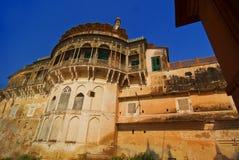 Fort Balcony. The balcony of the ancient Ramnagar fort from Varanasi, India Stock Photography