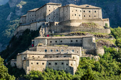 Fort Bard, Aosta Valley Royalty Free Stock Image