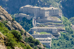 Fort Bard, Aosta Valley. Italy Stock Image