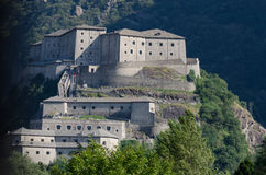 Fort Bard, Aosta Valley. Italy Royalty Free Stock Photos