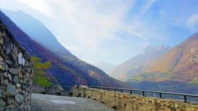 Fort bard w Włochy Fotografia Royalty Free