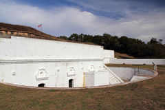 Fort Barrancas stock photo