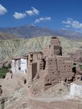 Fort Basgo, Ladakh Photo libre de droits