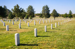 Fort Bayard National Cemetery Stock Image
