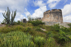 Fort Beekenburg on Curacao Stock Image