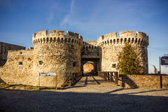 Fort in Beograd. Old fort in Beograd, Serbia stock photography
