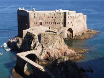 Fort. Berlenga Grande Island. Portugal. Fort of St John the Baptist in Berlenga Grande island, Berlengas Nature Reserve. Peniche, Leiria, Portugal Stock Photography