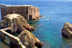 Fort in Berlenga island. Stock Photo