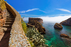 Fort in Berlenga island - Portugal Royalty Free Stock Photography