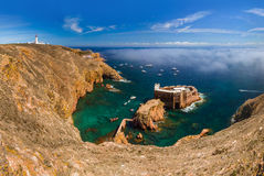 Fort in Berlenga island - Portugal Stock Photography