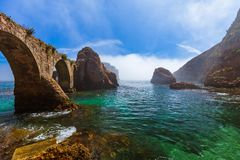 Fort in Berlenga island - Portugal Stock Photos