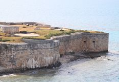 Fort in Bermuda Stock Photography