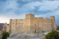The fort of Bhala, Oman Royalty Free Stock Images