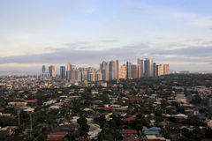 Fort bonifacio city skyline manila philippines Royalty Free Stock Photos