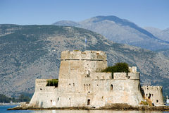 Fort Bourtzi in the city of Nafplio Stock Photography