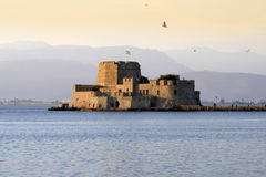 Fort Bourtzi - Nauplio, Greece Stock Image