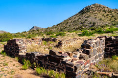 Fort Bowie National Historic Site. Ruins Royalty Free Stock Photo