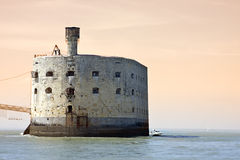 Fort Boyard royalty free stock photography