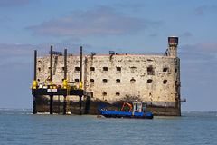 Fort Boyard Royalty-vrije Stock Foto's