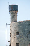 Fort Boyard. Detail view from a tourist boat Stock Photography