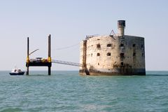 Fort Boyard Photographie stock