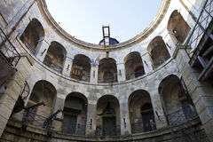Fort Boyard intérieur - France photos stock