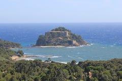 Fort brégançon Zdjęcie Royalty Free