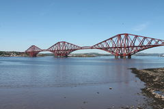 Fort-Brücke Schottland Stockbild