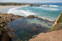 Fort Bragg, the beach Royalty Free Stock Image
