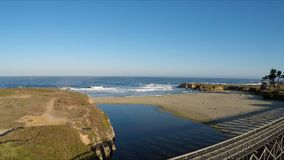 Fort Bragg, CA stock footage