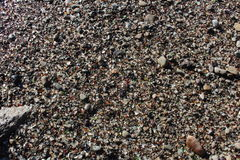 Fort Bragg California Glass Beach Sands Royalty Free Stock Photography