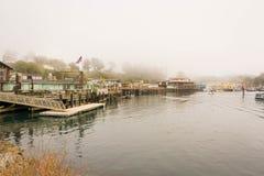 Fort Bragg, la rivière de Noyo, la Californie Photographie stock libre de droits