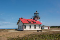 Fort Bragg, le phare Photographie stock