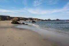 Fort Bragg Sand beach, California Stock Image