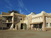 Fort Bravo Buildings Stock Photography