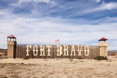 Fort Bravo Cinema Studios in Spain Royalty Free Stock Photos