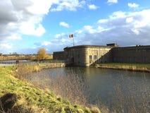 Fort Breendonk (België) Stock Afbeeldingen
