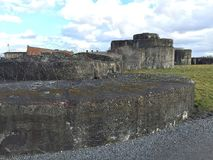 Fort Breendonk (België) Stock Afbeelding