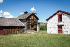Fort Bridger. The reconstructed Fort Bridger, Wyoming Royalty Free Stock Photography