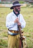 Fort Bridger Rendezvous 2014 Lizenzfreies Stockbild