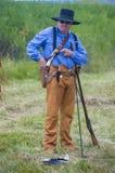 Fort Bridger Rendezvous 2014 Stockfotos
