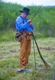 Fort Bridger Rendezvous 2014 Lizenzfreie Stockfotos
