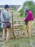 Fort Bridger Rendezvous 2014 Lizenzfreie Stockfotografie