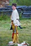 Fort Bridger Rendezvous 2014 Royalty-vrije Stock Afbeelding