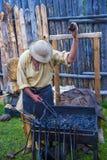 Fort Bridger Rendezvous 2014 Lizenzfreies Stockfoto