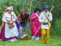 Fort Bridger Rendezvous 2014 Royalty-vrije Stock Foto's