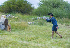 Fort Bridger Rendezvous 2014 Arkivbilder