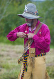Fort Bridger Rendezvous 2014 Royaltyfri Foto